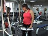 МВ  Тренажер для разгибания спины (Гиперэкстензия)