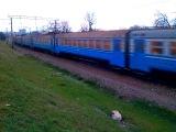 ЭР1-234 на перегоне Симферополь Пассажирский - Симферополь Грузовой