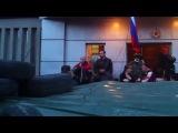 Женщина - МОЩНО. СБУ Луганск