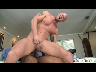 izzy fucks mitch vaughn, its gonna hurt, big boys like big toys, gay sex