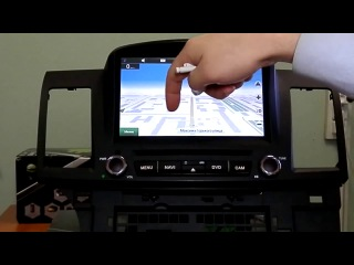 Магнитола с GPS-навигацией для Mitsubishi Lancer на андроиде от KT-Garage