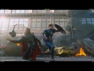 2012 Съемки - Мстители Смешные дубли(1)